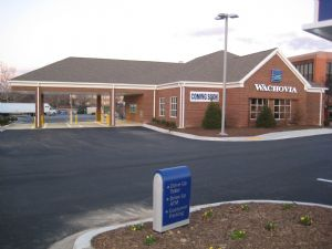 Wachovia Bank, Silver Springs, MD - Roof and Trim Package